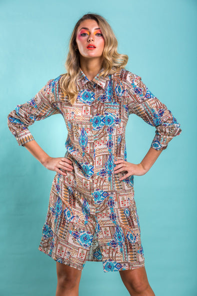 SIERRA COLLECTION - SHIRT DRESS