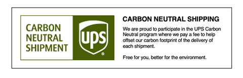 Carbon Neutral Shipment SaveTheDuck