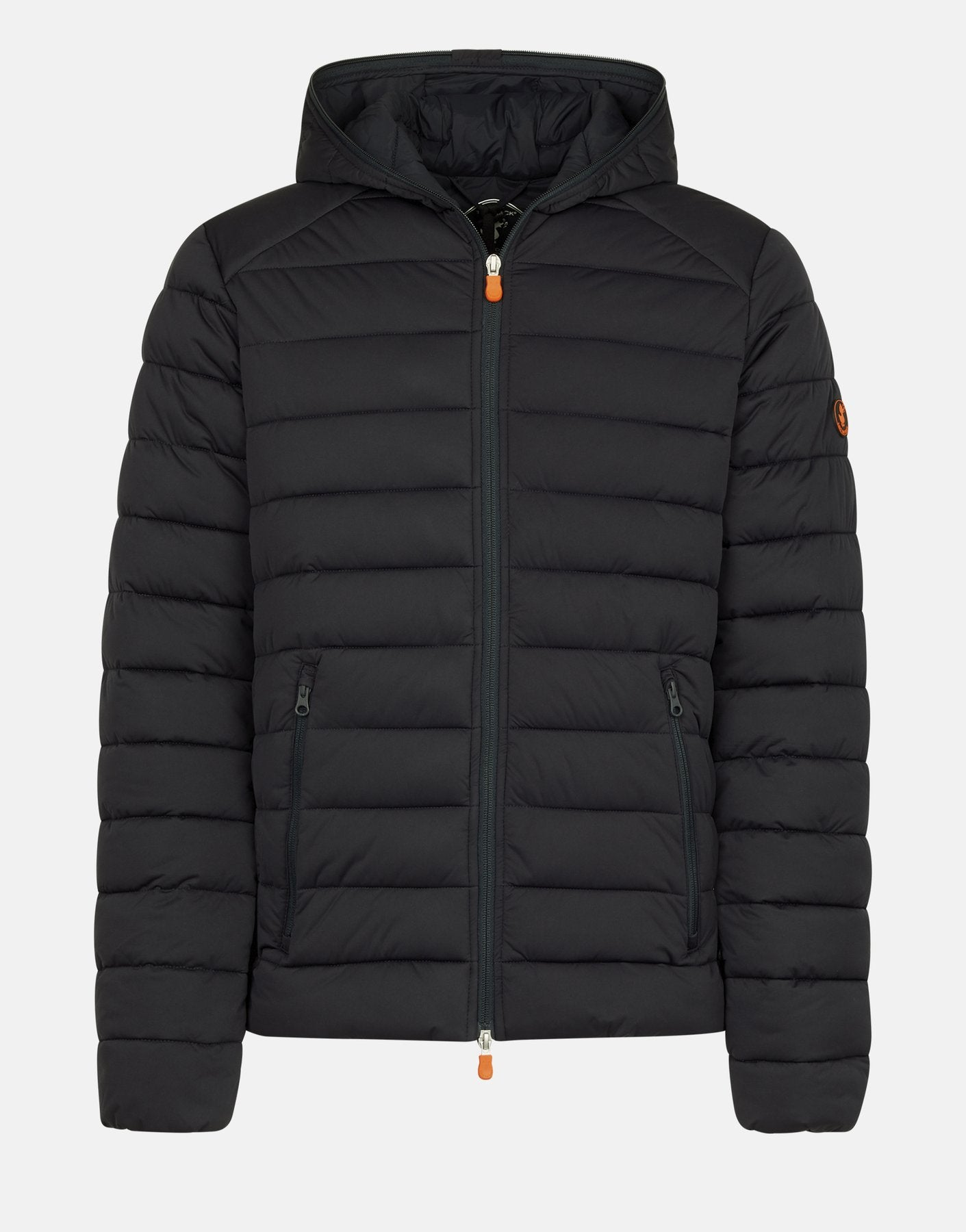 See this material featured on the Unisex SOLD Hooded Puffer Jacket