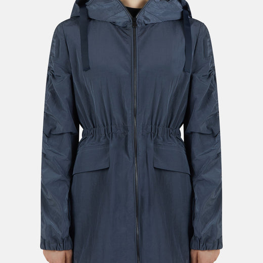Women's Daphne Relaxed Hooded Coat