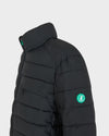 Mens RECY Quilted Jacket in Black