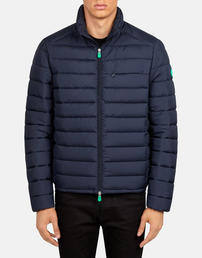 Save The Duck Men's RECY Puffer Jacket from Recycled Bottles