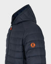 Men's GIGA Hooded Jacket in Grey Black