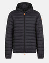 Men's Hooded Puffer Jacket in GIGA