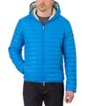 Men's Hooded Jacket in Ocean Blue