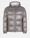 Men's Hooded Puffer Jacket in LUCK