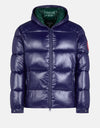 Save The Duck Men's LUCK Quilted Hooded Puffer Jacket