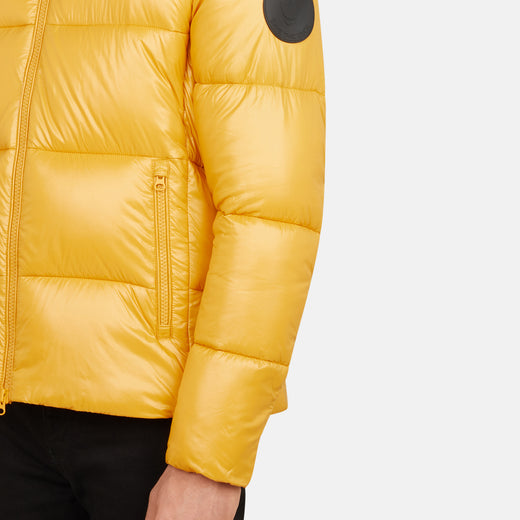 Men's LUCK Quilted Hooded Puffer Jacket