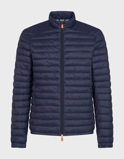 Mens GIGA Puffer Jacket in Navy Blue