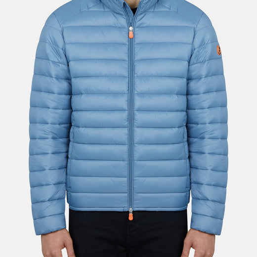 Men's GIGA Ultralight Puffer Jacket in Steel Blue