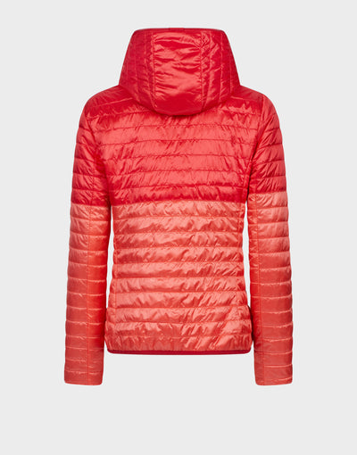 Womens MATY Reversible Jacket in Tomato Red