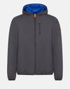 Save The Duck Men's MATT Reversible Puffer Rain Jacket