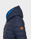 WOMEN'S GIGA QUILTED JACKET in Blue Black