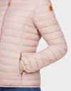 Womens GIGA Jacket in Blush Pink