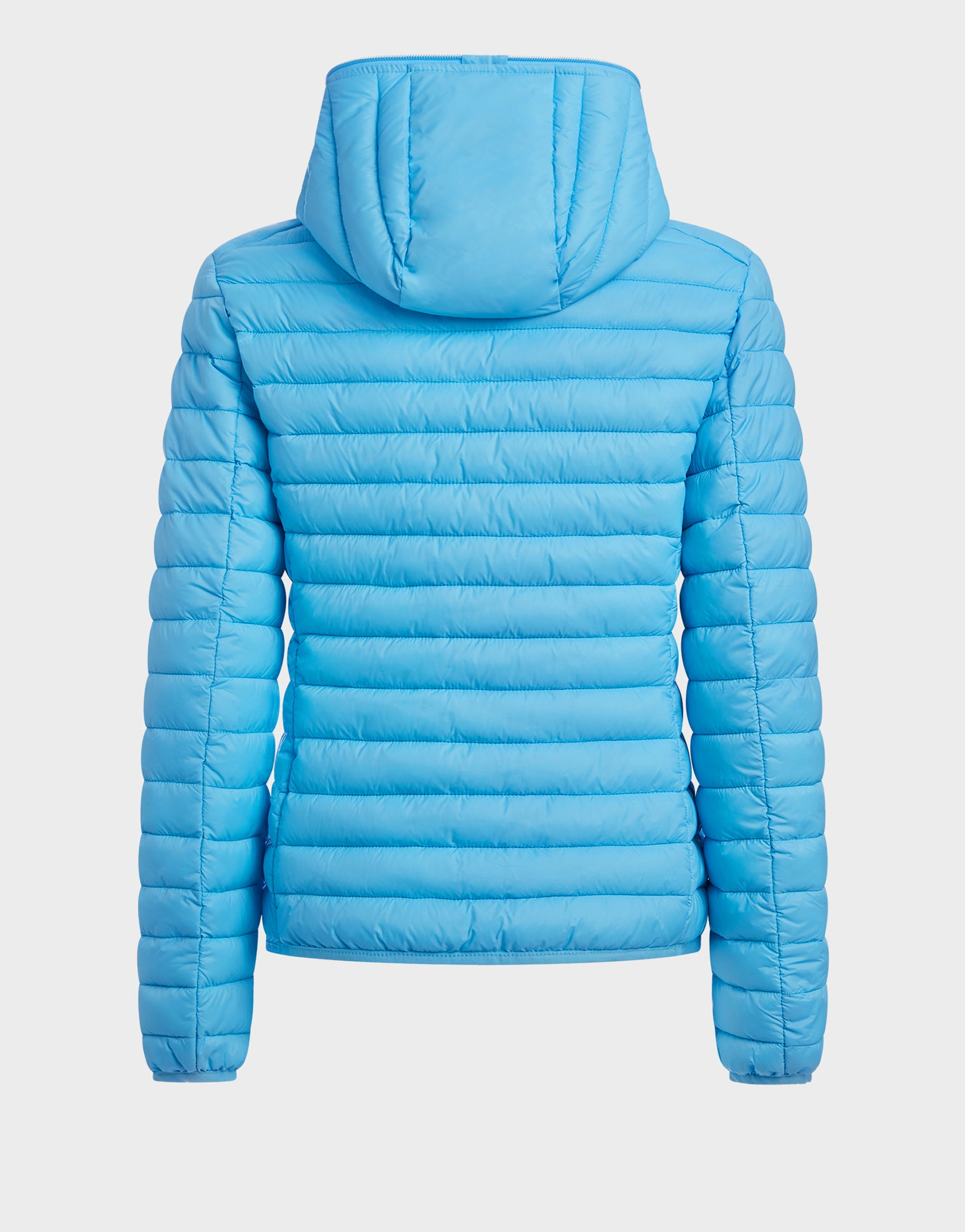 Womens IRIS Hooded Jacket in Ethereal Blue