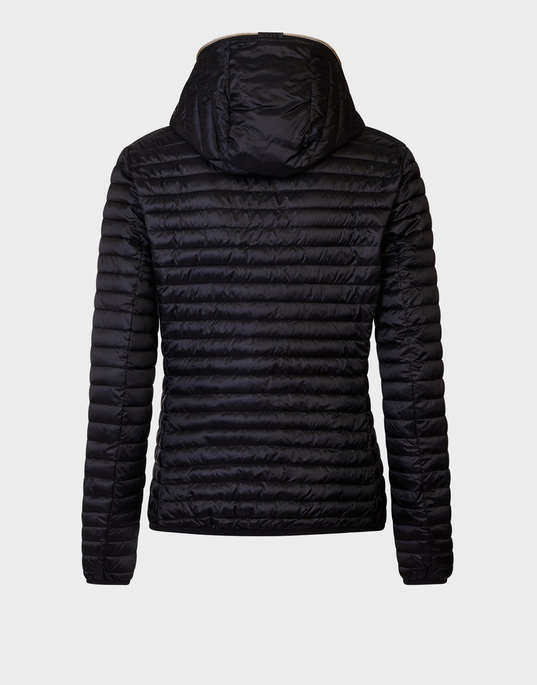 Womens IRIS Hooded Jacket in Black