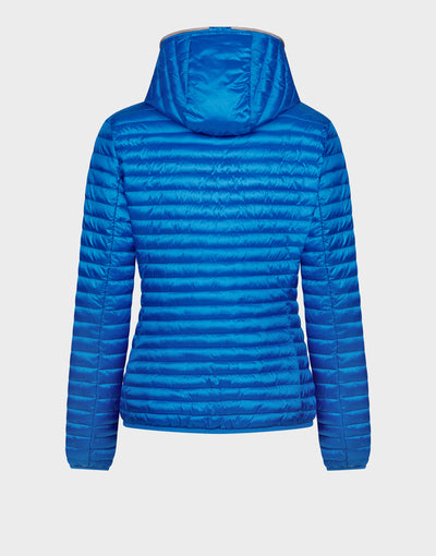 Womens IRIS Jacket in Marina Blue