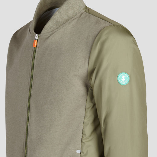 Men's FEEL Activewear Jacket in Mid Grey