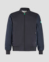Men's FEEL Activewear Jacket in Blue Black