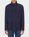 Mens GRIN Jacket in Navy Blue