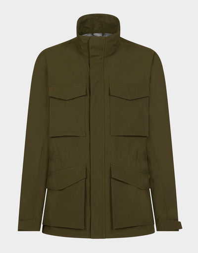 Mens GRIN Jacket in Dusty Olive