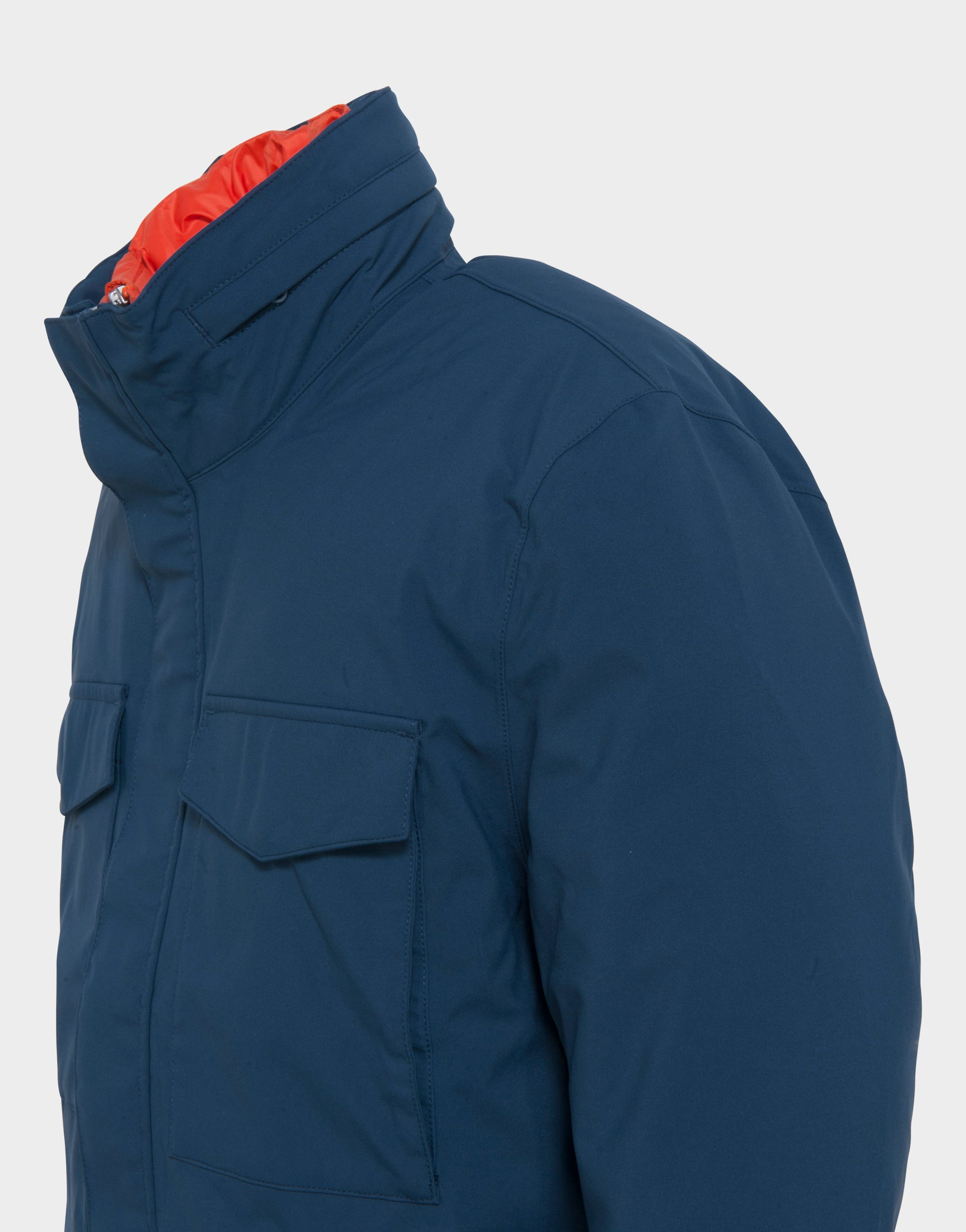 Mens SMEG Winter Jacket in Indigo