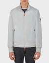 Mens MATY Bomber Jacket in Frozen Grey