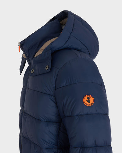 Men's GIGA Quilted Jacket in Navy Blue