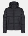 Men's Hooded Puffer Jacket in MEGA