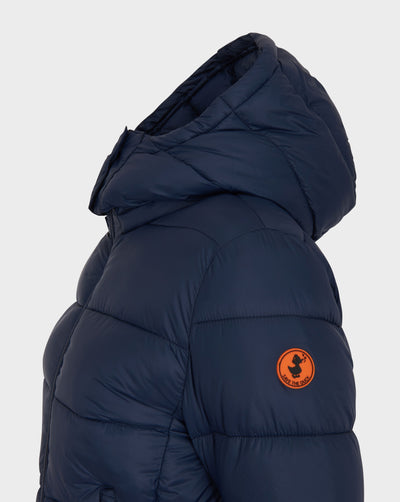 Women's GIGA Quilted Jacket in Navy Blue