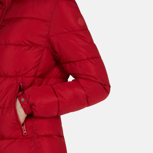 Women's MEGA Sporty-Look Hooded Jacket