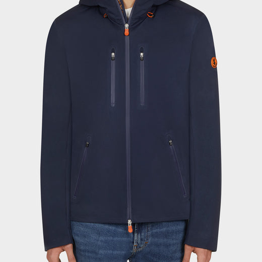 Mens BARK Jacket in Navy Blue