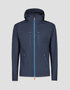 Mens RAIN Jacket in Navy Blue