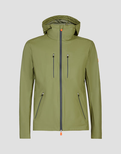 Mens RAIN Jacket in Leaf Green