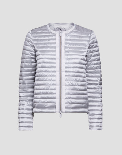 Save The Duck Womens Jacket-S3590W-IRIS6-01062 Silver