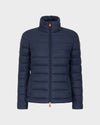 Women's GIGA Winter Jacket in Blue Black
