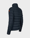 Womens GIGA Winter Jacket in Grey Black