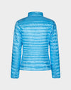 Womens IRIS Puffer Jacket in Ethereal Blue
