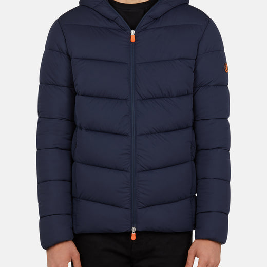 Mens Hooded Jacket in SEAL