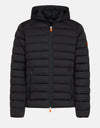 Men's Stretch Hooded Puffer Jacket in SOLD