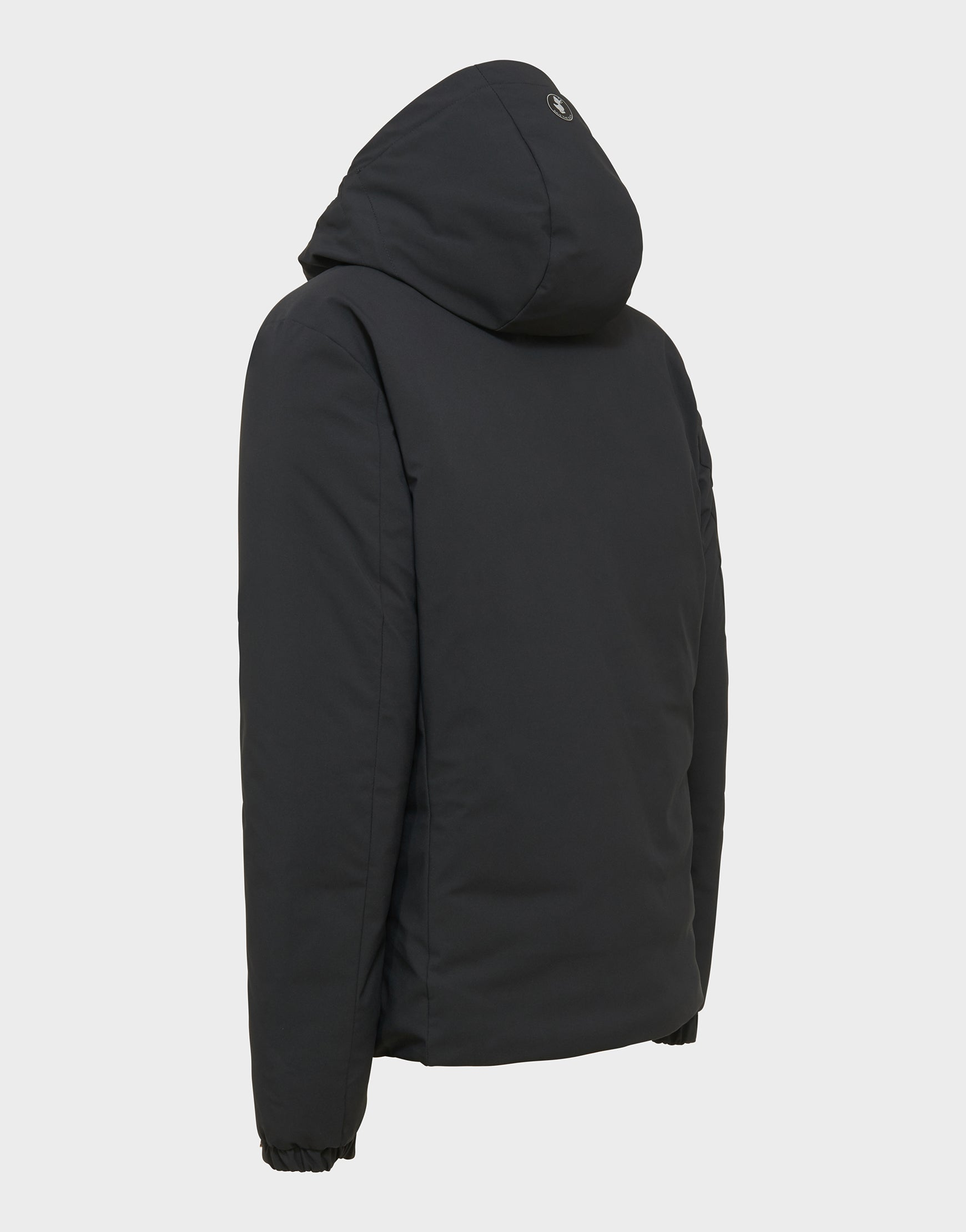 Mens SMEG Winter Hooded Jacket in Black