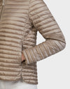 Womens IRIS Sporty Jacket in Pearl Grey