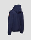 Save The Duck Womens Hooded Jacket-S3715W-MATY6-09 Navy Blue