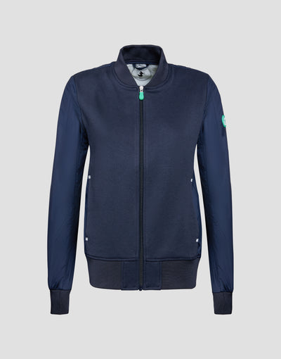 Save The Duck Womens Jacket-S3720W-FEEL6-146 Blue Black