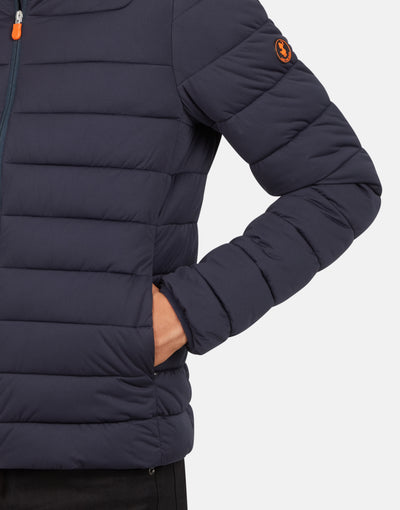 Save The Duck Men's SOLD Stretch Puffer Jacket