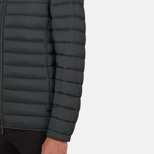 Mens Hooded Puffer Jacket in MITE