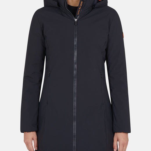 Women's MATT Classic Rain Coat with Detachable Hood