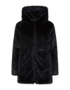 Save The Duck Womens Reversible Faux Fur Coat in FURY