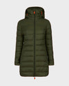Women's GIGA Hooded Coat in Dusty Olive