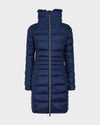 Women's IRIS Winter Coat in Navy Blue